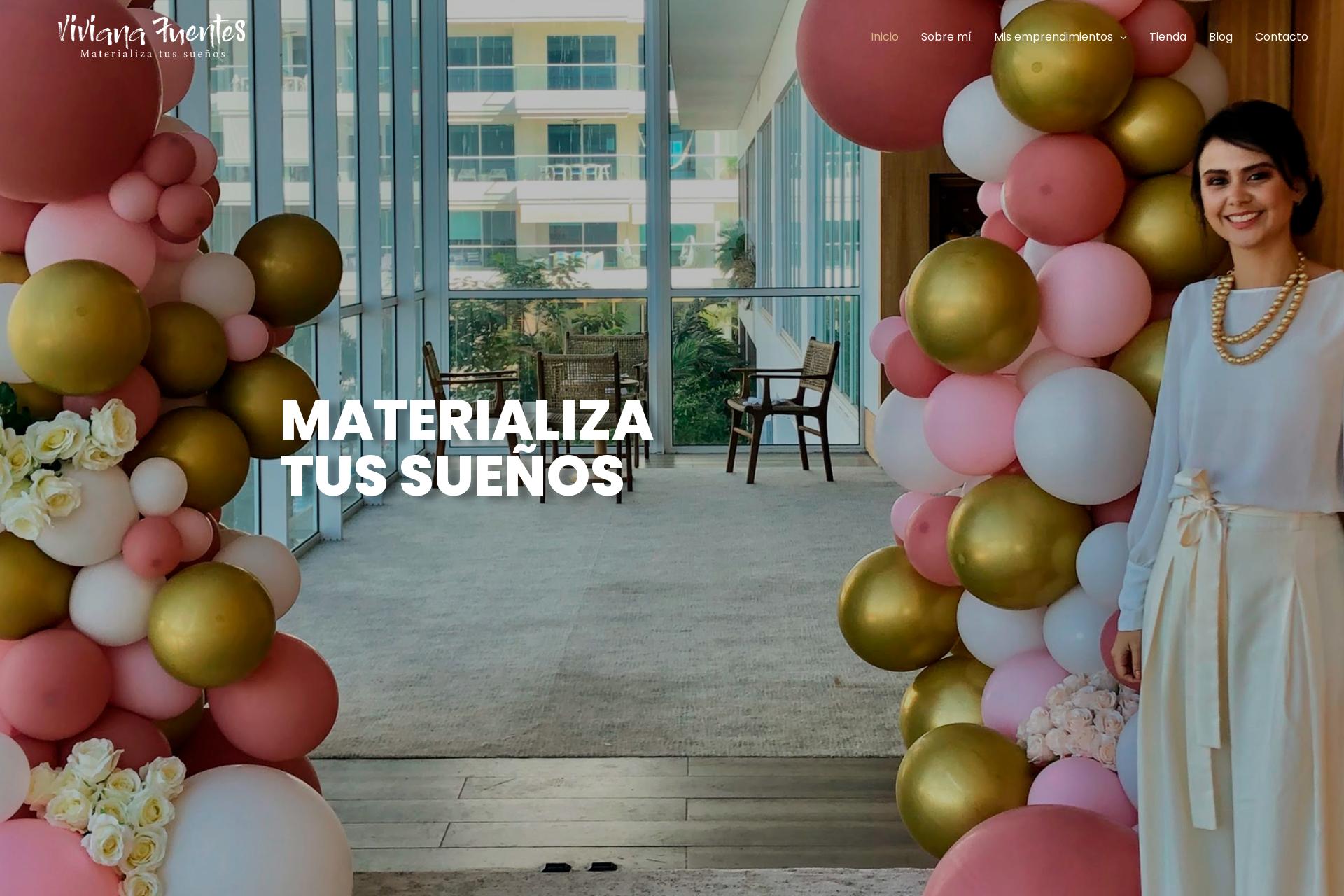 VIVIANA FUENTES – Materializa tus sueños.